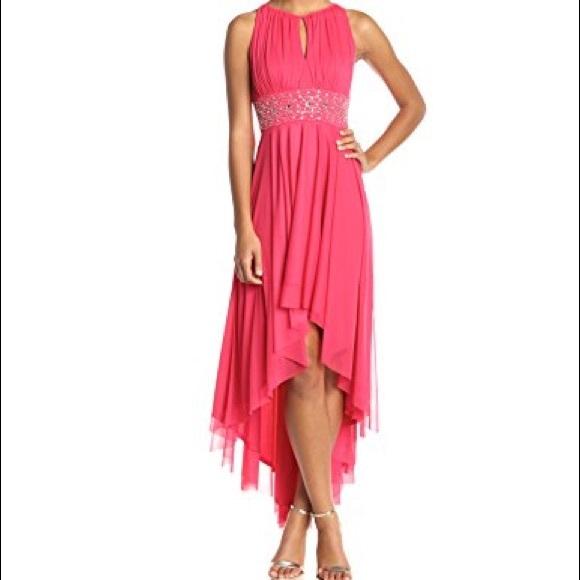 Jessica Howard Dresses   Pink Highlow Formal Dress   Poshmark